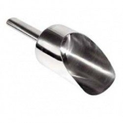 Stainless Steel Scoop, 5.30 Diameter x 10.20 Depth (cm)