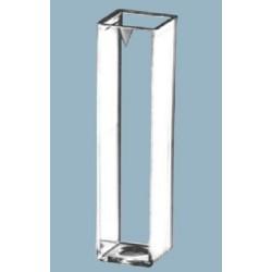 Sarstedt-Cuvettes/Vis,10 x 10mm, polystyrene, Optical pathway 10mm-Max vol 4mL-pkt/100