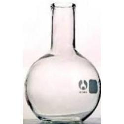 Boiling flask, borosilicate glass, flat bottom-1,000mL