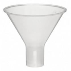 Funnel, plastic, powder type, 65mm d x 22mm stem length