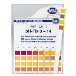 PH High Quality test strips, non-bleeding- Machery-Nagel Brand, pH-Fix 1 - 14, 1 pH increments, pkt 100