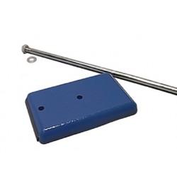 Retort Stand * Base, 115x75mm, Rod 500mm high