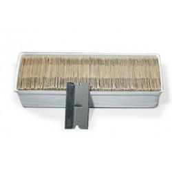Blade, razor, single edge-pk/100   (made in USA)