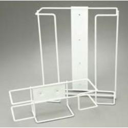 Bastion-Triple Wire Glove Dispenser Wall Bracket - White-1 Carton - 1 Piece