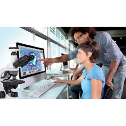 Motic Microscope Cameras and Displays