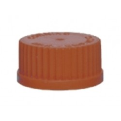 Axygen Screw Caps with 'O' Rings, Amber Brown -pkt/500