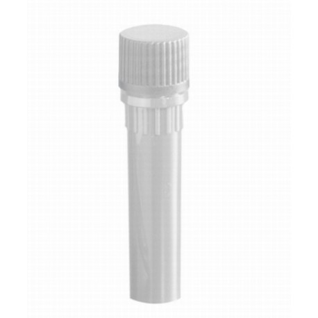 Axygen 0.5ml screw cap self standing sterile tubes and Clear caps with  InchO Inch rings-pkt/500