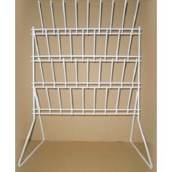 Metapp Glassware Draining Rack– Bench Mounting. Size: 360x500mm.