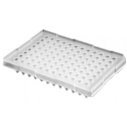 Axygen 96 well PCR plate Elevated skirt to suit ABI Real-time/Sequencing instruments-pkt/50