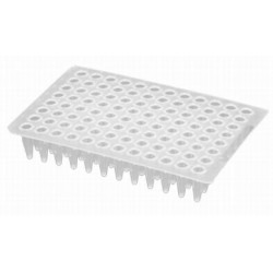 Axygen 96 well PCR Full skirt plate to suit ABI Instruments-pkt/50-FITS ABI/MJ Tetrad