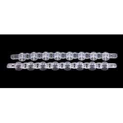 Chromoplas 8 white strip tubes, 0.2mL-per /120 x 8