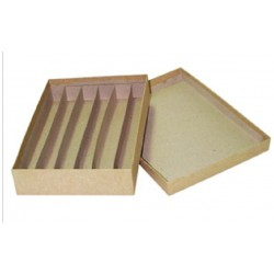 Histology Cases Cardboard, 6 Compartments of 3cm, each