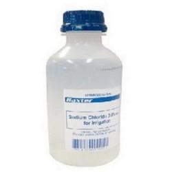 Baxter Sodium Chloride 0.9% Irrigation Pour, Bottle 500ml, each