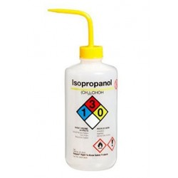 Wash Bottle-Nalgene-500mL, with curved straw. Chemical Name: Isopropanol-each