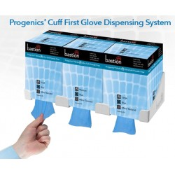 Bastion Progenics Gloves with Cuff First Dispensing System