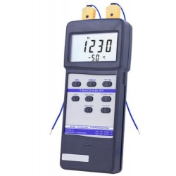 Control Company Dual-Channel Traceable Thermometer