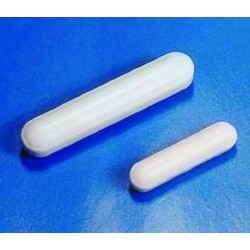 Cowie Magnetic stirring bar, Cylindrical, 80mm x 10mm, Plain, PTFE coated