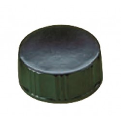 LABCO Plastic Black Cap 24mm, Urea, PVDC liner