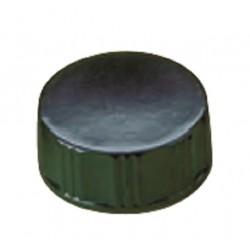 LABCO Plastic Black Cap 28mm, Urea, PVDC liner