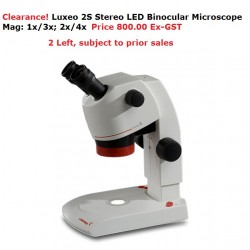 Labomed Luxeo 2S, 4Z, 4D Stereo Microscopes