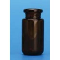 'FINNERAN-20mL Amber Beveled Bottom Headspace Vial, 23x75mm, 18mm Thread, pkt/100