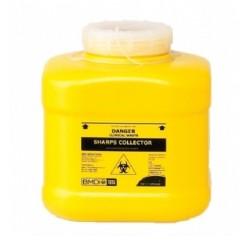 Terumo 8L Yellow Bio-Hazard Sharps Container with Screw Lid
