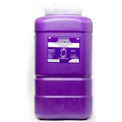 Terumo 19L Purple Cytotoxic Bio-Hazard Sharps Container with Screw Lid