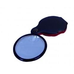 Technos Folding Magnifier, 50mm d Lens, Folds into vinyl pouch