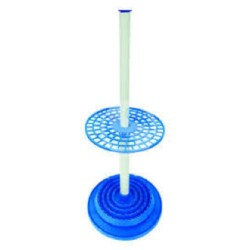 Technos Round Adjustable Polypropylene Pipette Stand. Holds 94 Pipettes