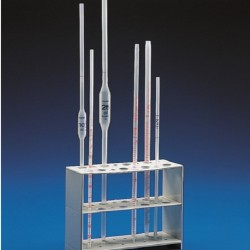 Kartell 16 place  Verticle Pipette Stand, Polypropylene, Dim: (200Lx75Wx150H)mm
