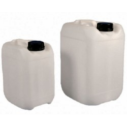 Kartell 2L HDPE (Food grade) Dangerous Goods Container with handle and secure seal GL45 cap