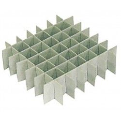Argos Cryobox Cardboard Inserts, 7x7 grid format, pkt/12