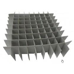 Argos Cryobox Cardboard Inserts, 9x9 grid format, pkt/12