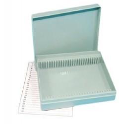 Technos-Slide box, Microscope, Plastic, Fits 25 slides