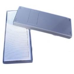 Technos-Slide box, Microscope, Plastic, Fits 50 slides