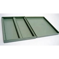 Technos-Slide box, Microscope, Plastic, Fits 100 slides
