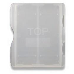 LABCO 2 Place plastic mailer, opaque, break resistant, suits 76x25mm slides, pkt/100