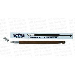 Technos pencil with diamond tip for writing on glass, each