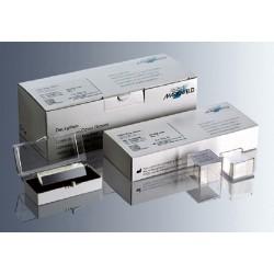 Marienfeld Cover Slip, 22 x 40mm, Thickness No. 1.5 (0.16-0.19mm), Borosilicate Glass 3.3, pkt/100