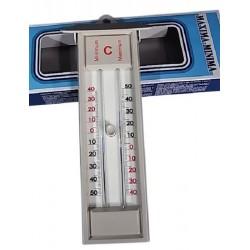 Technos Outdoor Min/Max Mercury Thermometer, Made From Quickset Plastic, Temp Range: -30/50oC