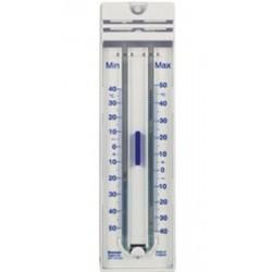 Technos Outdoor Min/Max Blue Spirit Thermometer, Made From Quickset Plastic, -Temp Range: -30/50oC