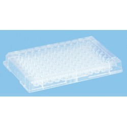 Sarstedt 96 well micro test plates, without lid, non-sterile, pkt/25/ctn/100