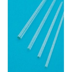 Technos Stirring rod, borosilicate glass, 10mm x 200mm, rounded tip ends