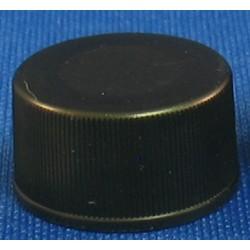 "FINNERAN-15-425mm Black Polypropylene Solid Top Polypropylene Closure, PTFE/Silicone Septa, 0.065"", autoclavable, pkt/100"