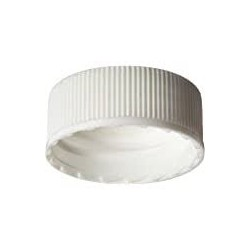 FINNERAN-24-400mm White Polypropylene Cap/PTFE/Silicone Lined, pkt/100