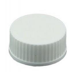 Sliverlock - 22-400mm Polypropylene Solid White Cap with no liner, suits FINN-320022-2860, pkt/100